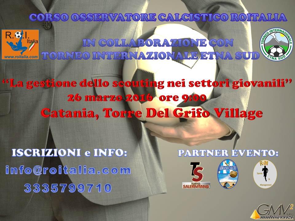 Locandina Catania 26 marzo